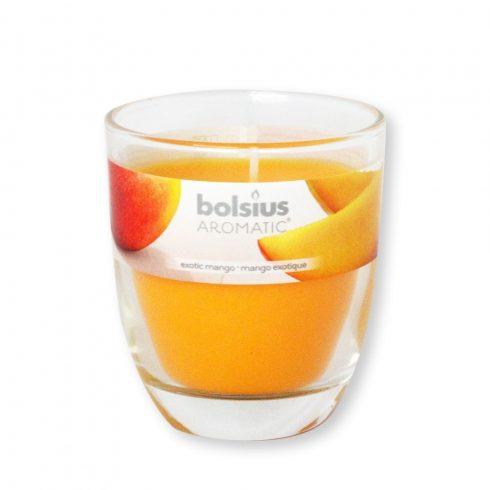 Poharas Bolsius illatmécses Mango