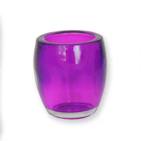 Mécses tartó pohár Lila