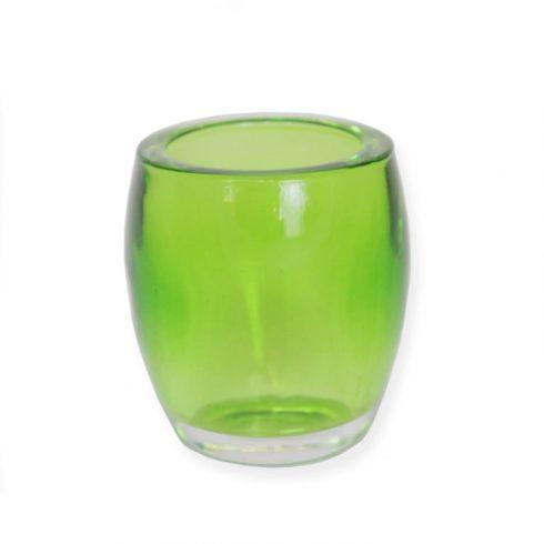 Mécses tartó pohár Zöld