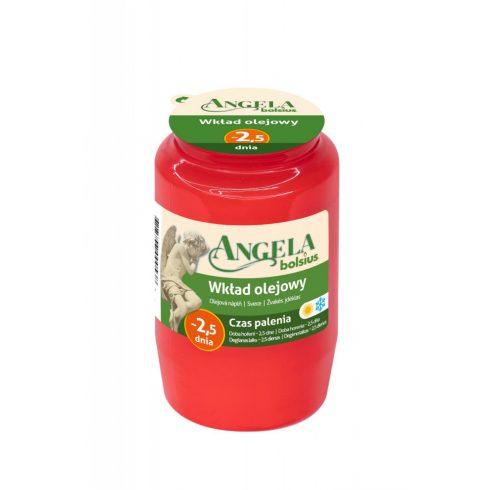 Olaj mécses Angela 2,5D piros