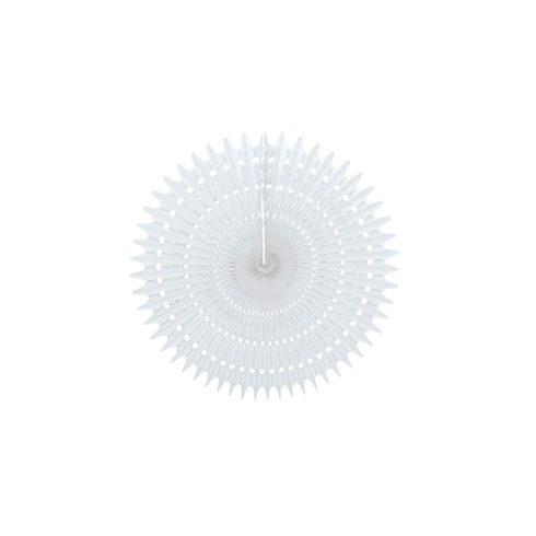 Legyező  Dekoráció Fehér 25 cm