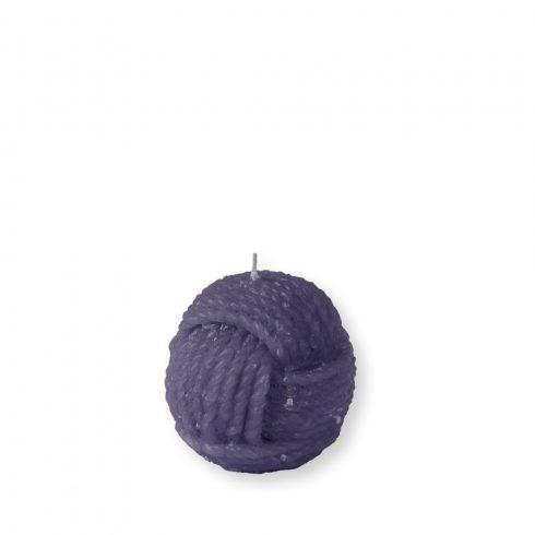 Gombolyag gyertya mini lila