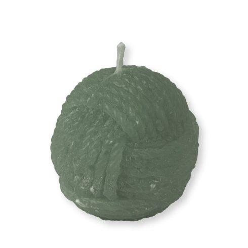 Gombolyag gyertya maxi zöld