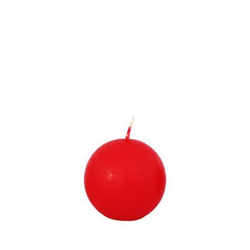 Gömb gyertya Mini Piros