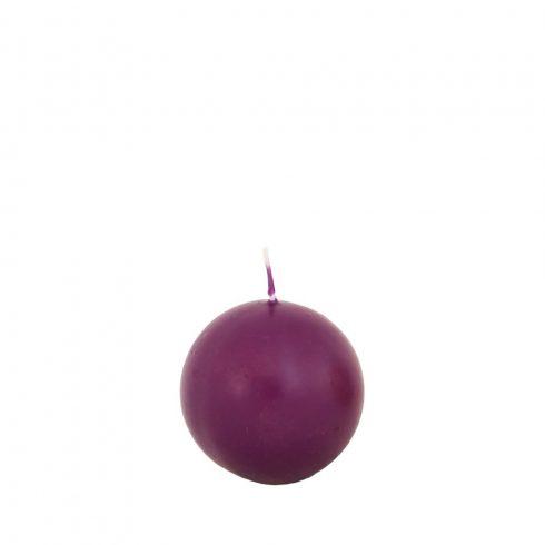 Gömb gyertya Mini Lila