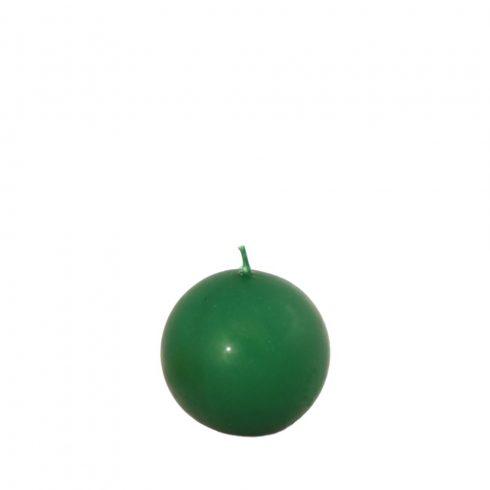 Gömb gyertya Mini Zöld
