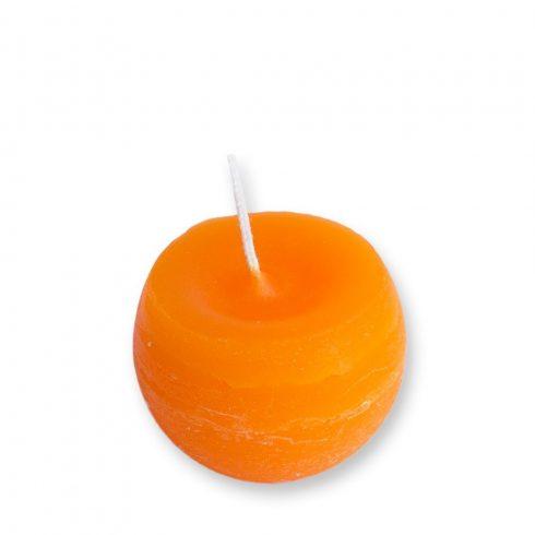 Rusztikus Gömb Gyertya Mandarin 6 cm