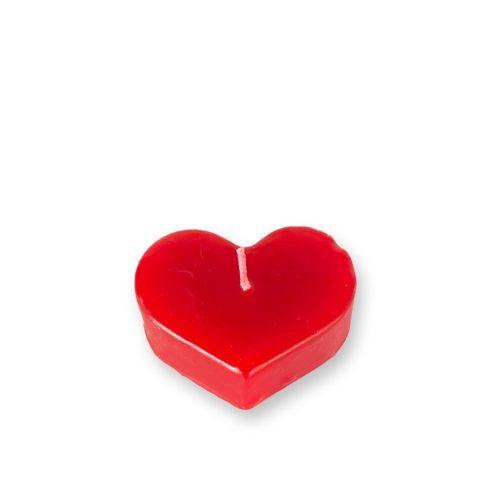 Szív alakú gyertya kicsi