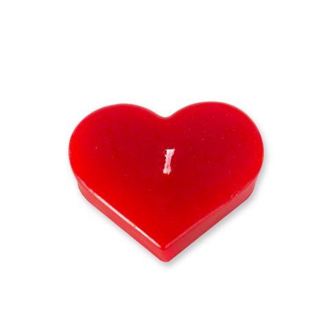 Szív alakú gyertya nagy