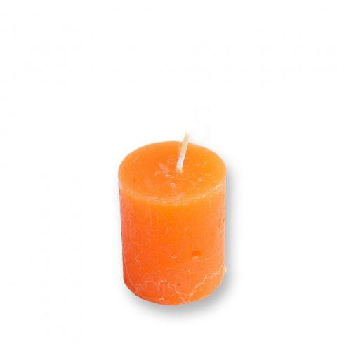 Rusztikus Adventi Gyertya Mandarin 4x5cm