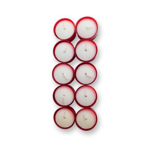 Műanyag mécses WK 25 piros