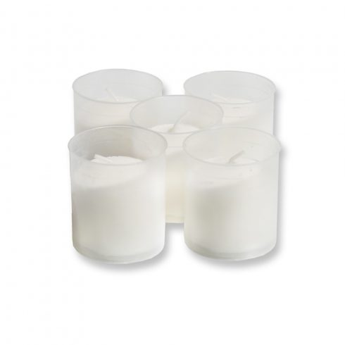 Műanyag mécses WK60 fehér