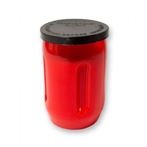 Olaj mécses OL1 piros