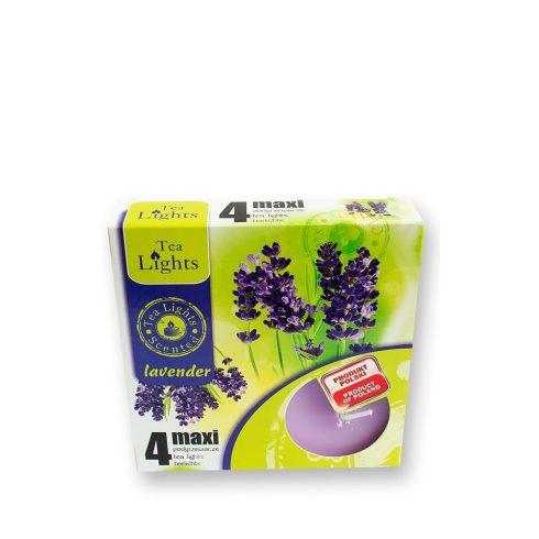 Tea mécses Maxi Levendula 4db