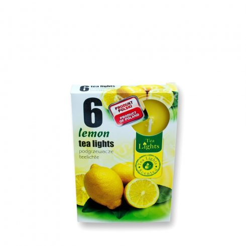 Tea mécses Citrom 6db