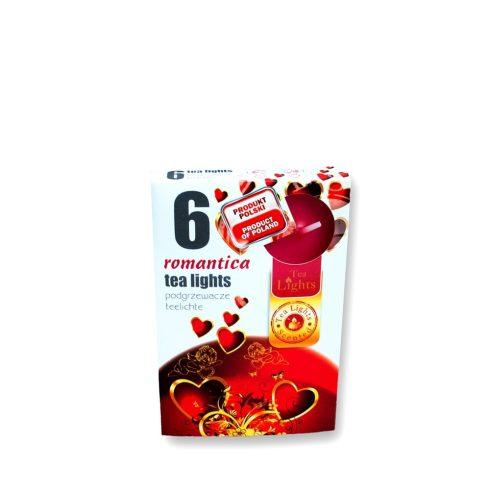 Tea mécses Romantika 6db