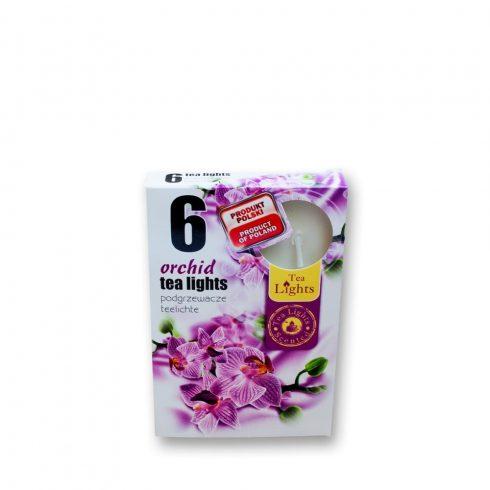 Tea mécses Orchidea 6db