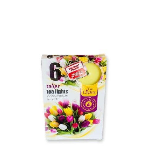Tea mécses Tulipánok 6db