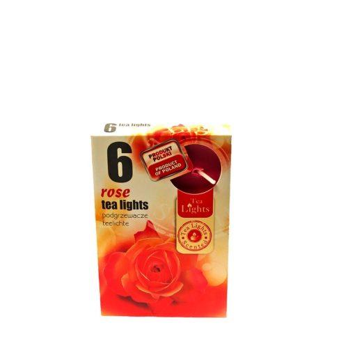 Tea mécses Rózsa 6db