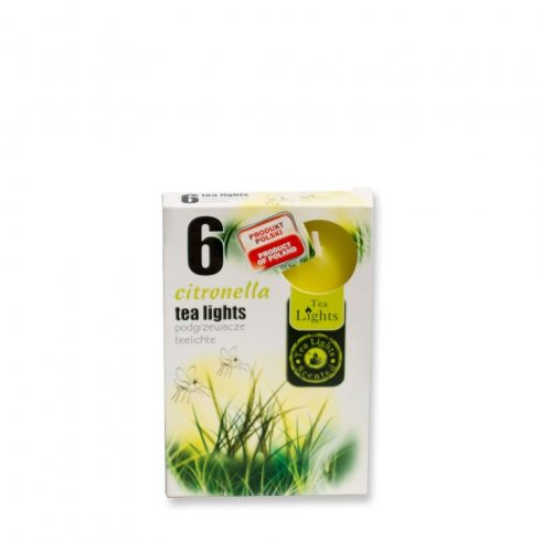 Tea Mécses Citronella 6db