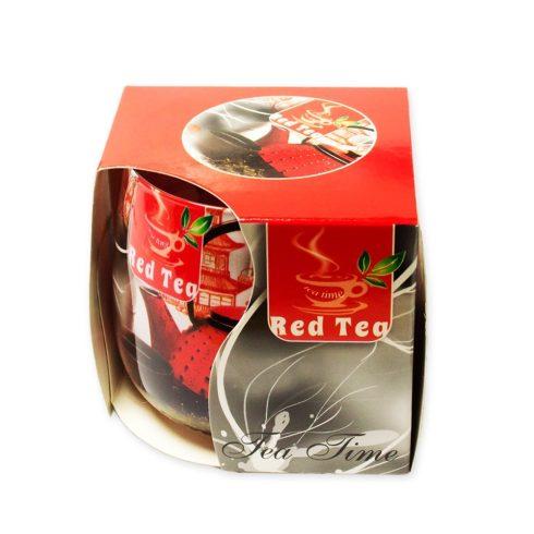 Poharas illatmécses Vörös tea