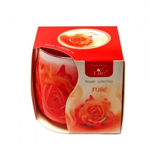 Poharas illatmécses Rózsa