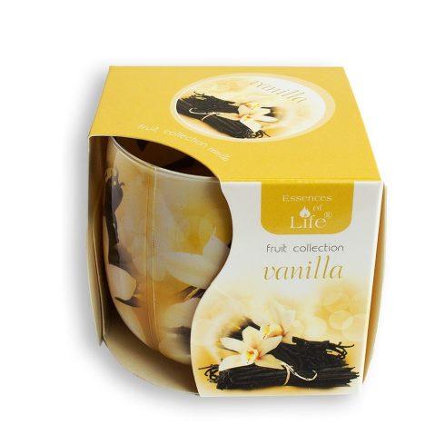 Poharas illatmécses Vanilia