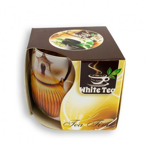 Poharas illatmécses Fehér Tea