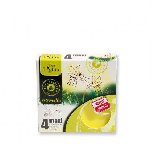 Tea Mécses Maxi Citronella 4db