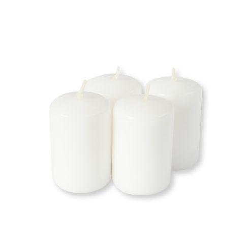 Adventi gyertyák fehér 4 db