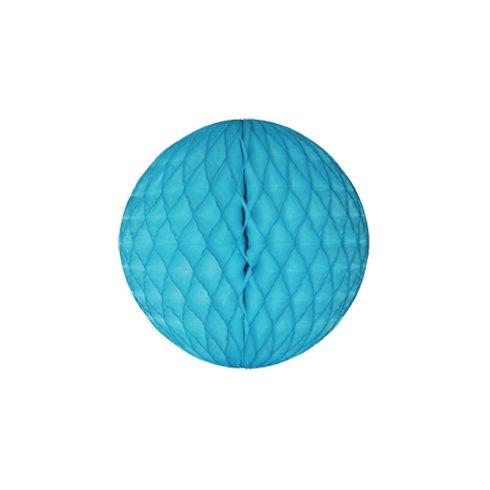 Méhsejt Gömb Dekoráció Világos Kék 36 cm