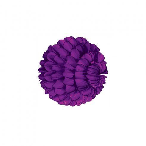 Pom-Pom Dekorációs Gömb Lila 30 cm