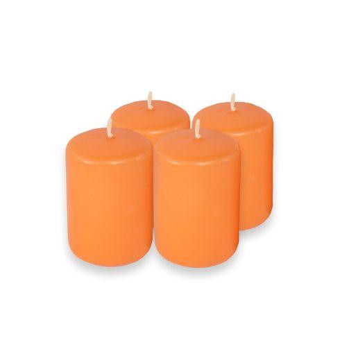 Adventi gyertyák 4db narancs