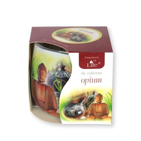 Poharas illatmécses Ópium